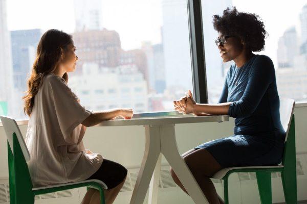 image depicting a conversation about a cohabiltation agreement