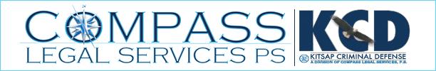 Compass Legal Services and Kitsap Criminal Defense Logo